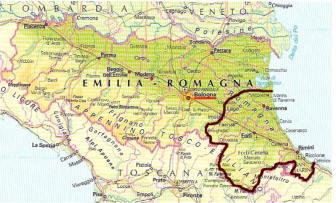 Cartina Geografica Regione Emilia Romagna.Cucina Tipica Della Regione Emilia Romagna Ricette Tradizionali