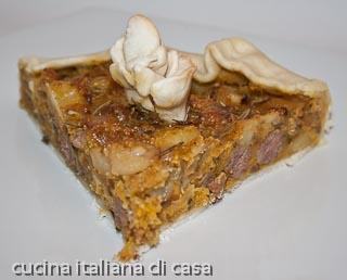 Ricetta torta rustica di patate e salsiccia for Poco costoso per costruire piani di casa