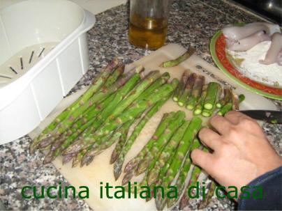 Involtini di platessa e asparagi ricetta fotografata passo passo di cucina italiana di casa - Cucina italiana di casa ...