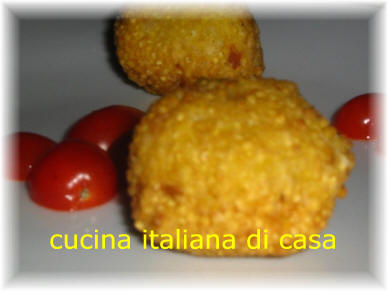 Crocchette di miglio ricetta con foto ricette vegetariane di cucina italiana di casa - Cucina italiana di casa ...