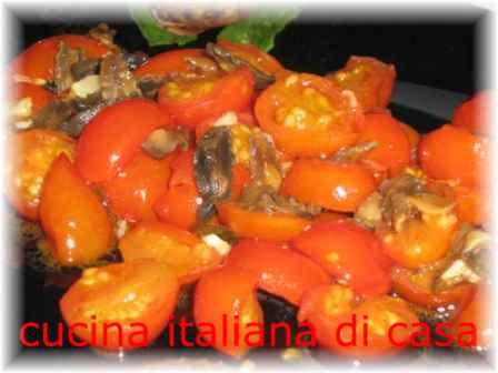 Lumache alla romana con pomodoro fresco e mentuccia ricetta con foto di cucina italiana di casa - Cucina italiana di casa ...