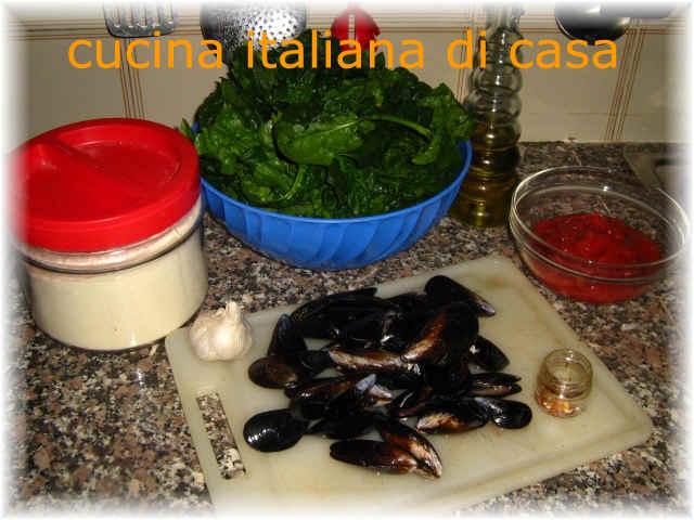 Ravioli di cozze al pomodoro ricetta con foto di cucina italiana di casa - Cucina italiana di casa ...