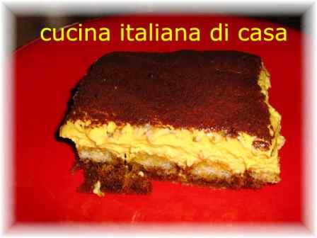 Tiramis al caff ricetta con foto di un classico dolce freddo di cucina italiana di casa - Cucina italiana di casa ...