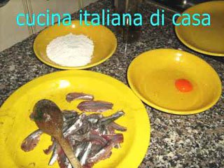 Come preparare le acciughe fritte di artusi ricetta fotografata passo passo di cucina italiana - Cucina italiana di casa ...