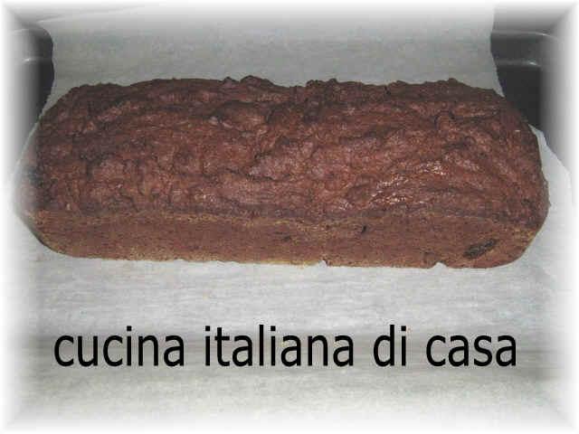 Plumecake al cacao cucina italiana di casa ricetta - Cucina italiana di casa ...