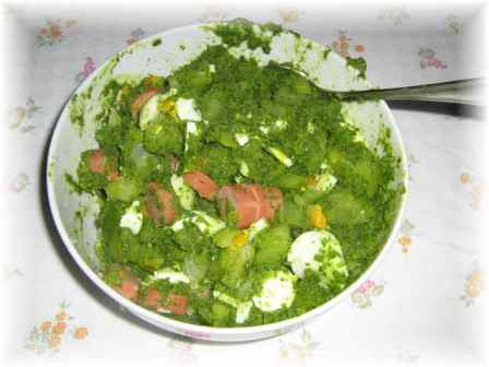 Insalata di patate in salsa verde