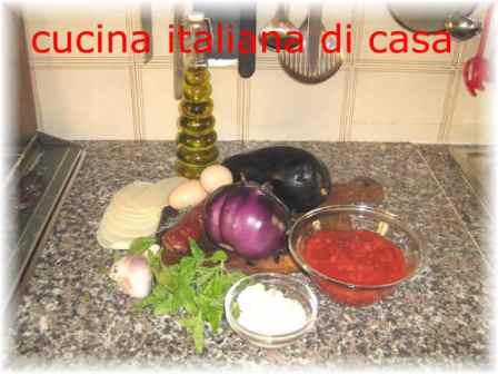 Ingredienti dosi e tempi di preparazione delle melanzane alla parmigiana ricetta con foto di - Cucina italiana di casa ...